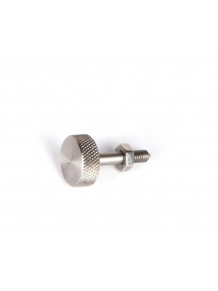 Knurled screw short